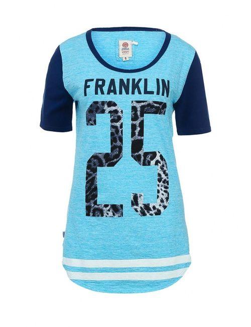 Franklin & Marshall | Женская Голуба Футболка