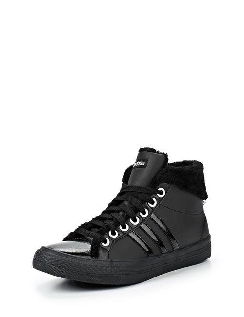 adidas Neo   Женские Чёрные Кеды