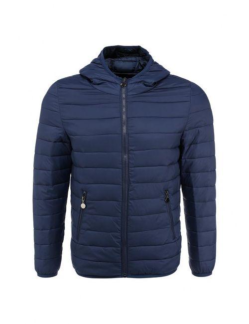 New Brams | Мужская Синяя Куртка Утепленная