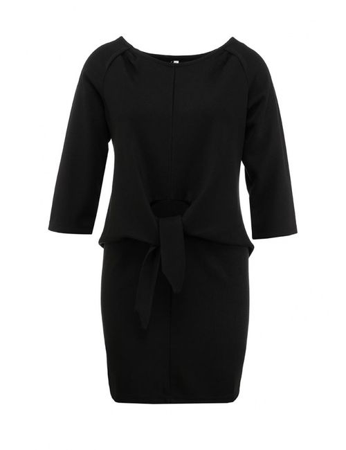 Sweewe | Женское Чёрное Платье