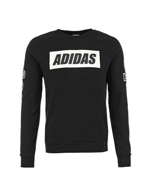 adidas Neo | Мужские Чёрные Свитшот