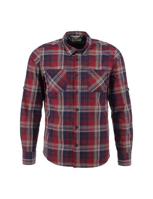 Mudo | Мужская Красная Рубашка