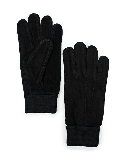 Fabretti   Мужские Чёрные Перчатки