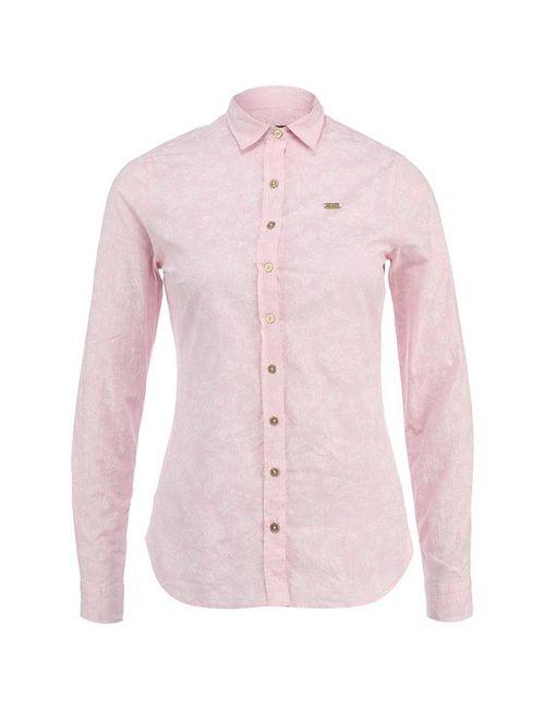 U.S. Polo Assn.   Женская Розовая Рубашка