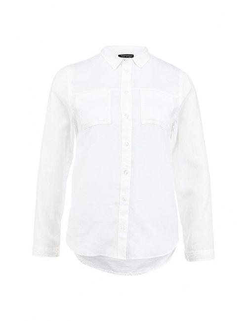 Topshop | Женская Белая Рубашка