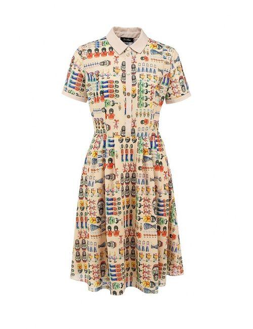 LuAnn   Женское Бежевое Платье