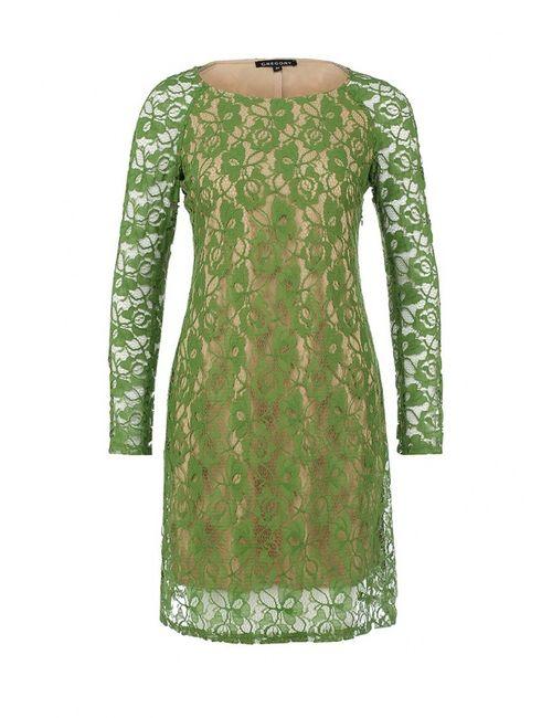 Gregory | Женское Зелёное Платье