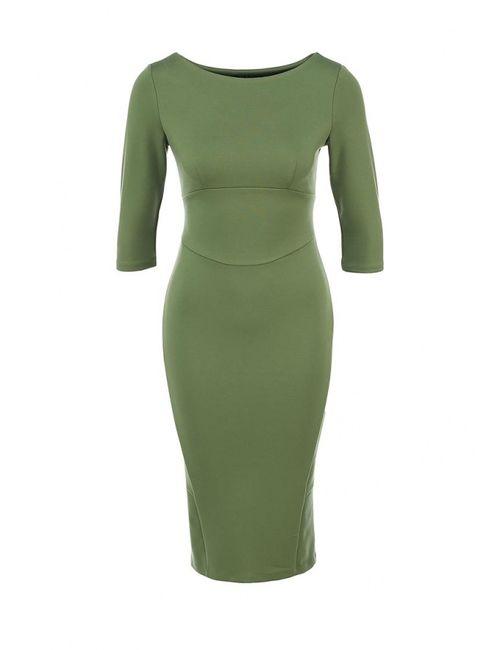 Анна Чапман | Женское Зелёное Платье