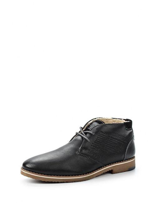 Bugatti | Мужские Чёрные Ботинки
