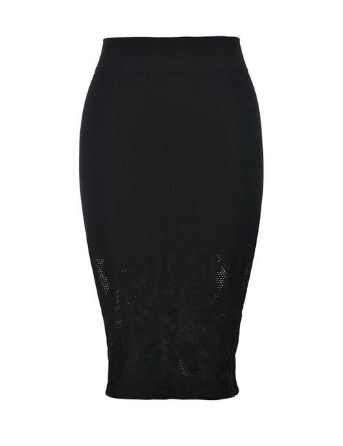 Concept Club | Женская Чёрная Юбка
