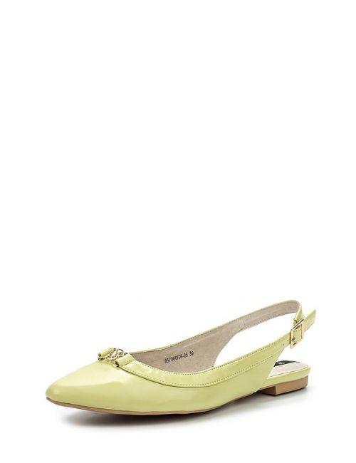 J&Elisabeth | Женские Зелёные Туфли