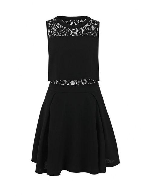 LOST INK | Женское Черный Платье