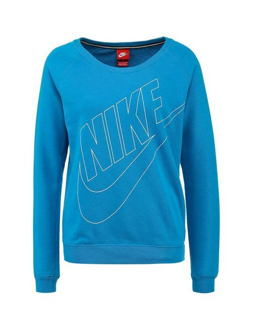 Nike | Женские Синие Свитшот