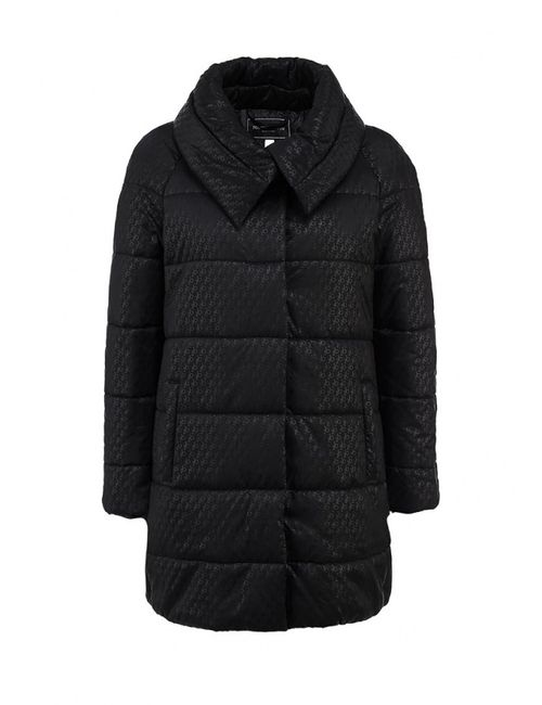 Roccobarocco | Женская Чёрная Куртка Утепленная