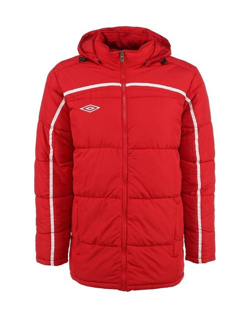 Umbro | Мужская Красная Куртка Утепленная