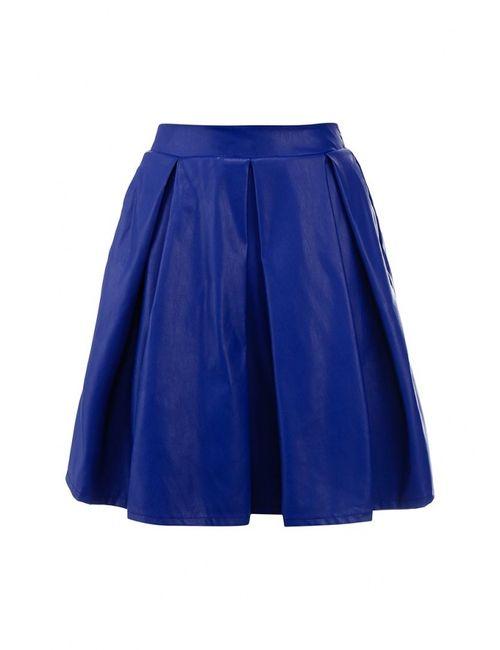 Tutto Bene | Женская Синяя Юбка