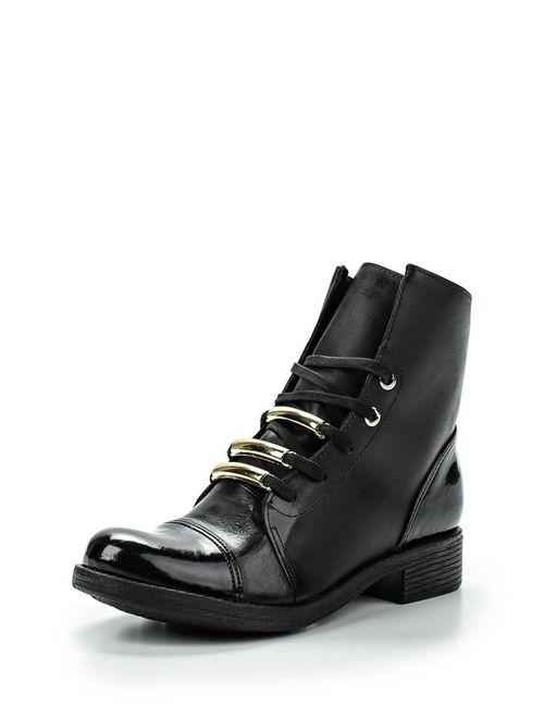 Cravo & Canela | Женские Чёрные Ботинки