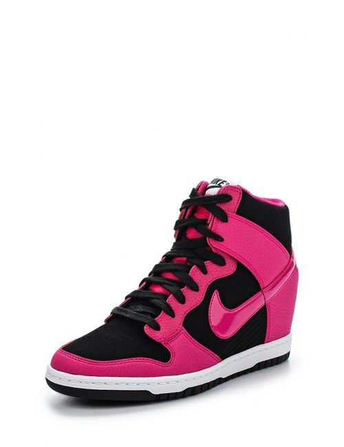 Nike | Женские Многоцветные Кеды На Танкетке