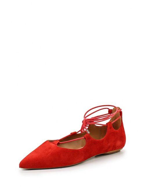 Topshop | Женские Красные Туфли
