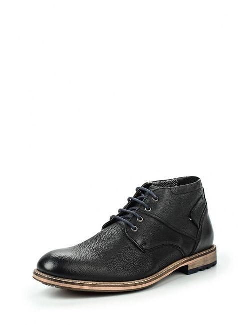 s.Oliver | Мужские Чёрные Ботинки