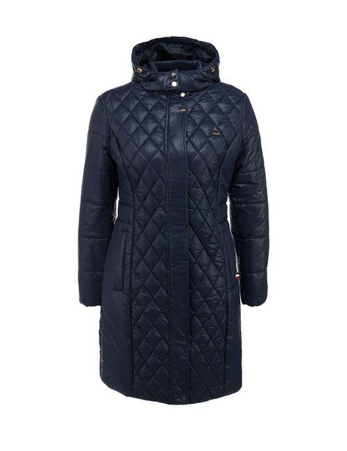U.S. Polo Assn. | Женская Синяя Куртка Утепленная