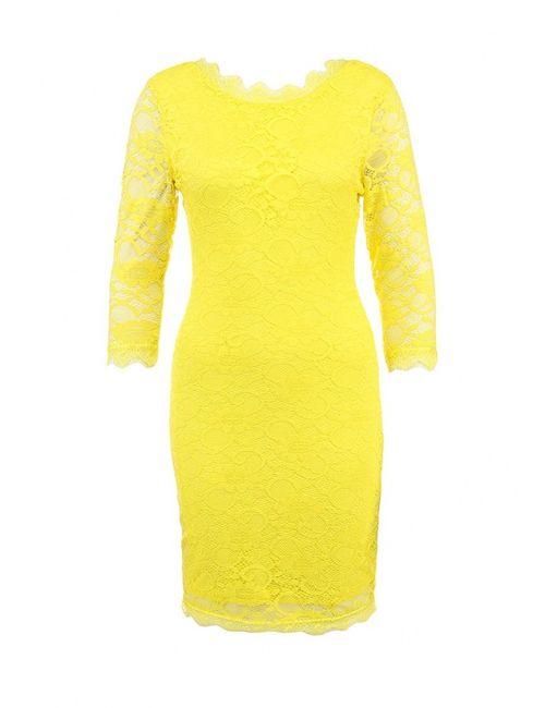 Ad Lib | Женское Жёлтое Платье