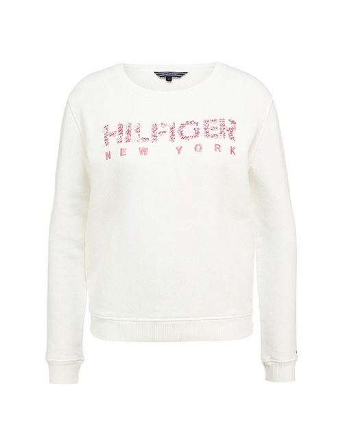 Tommy Hilfiger | Женские Белые Свитшот