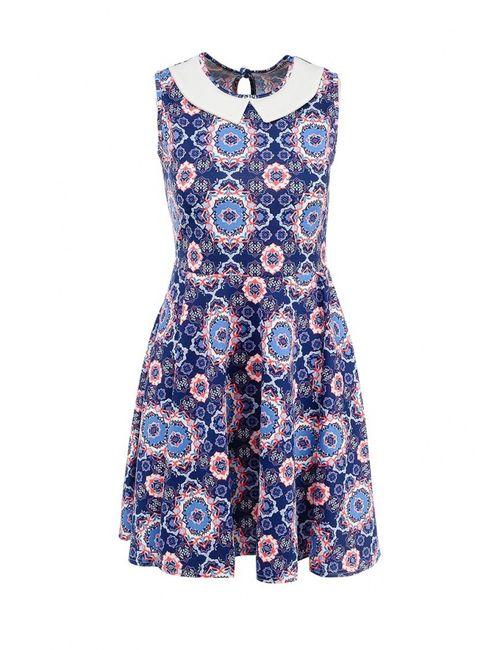Amplebox | Женское Синее Платье