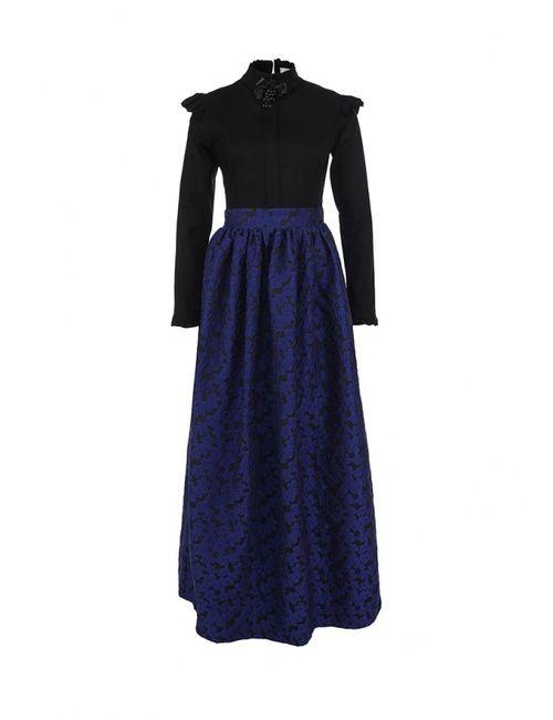 Tutto Bene | Женское Синее Платье Эксклюзивно Для Lamoda