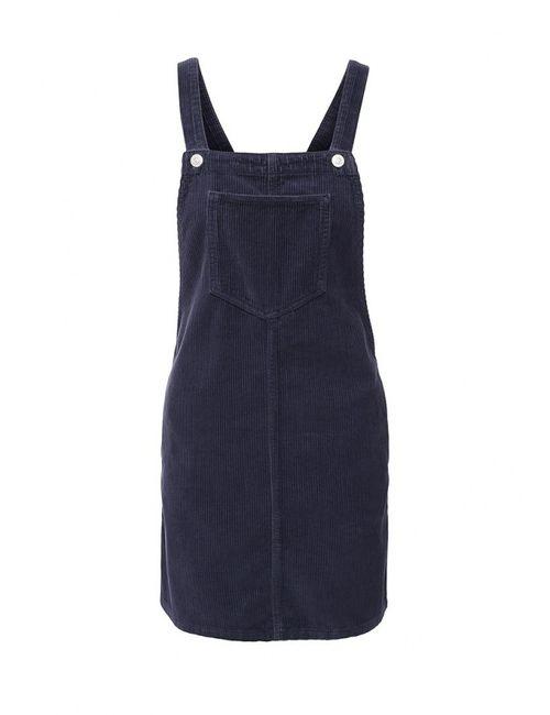 Topshop | Женское Синее Платье Джинсовое