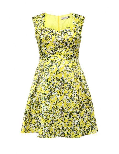 Lamania Elegant | Женское Многоцветное Платье