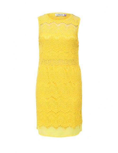La Coquette | Женское Жёлтое Платье