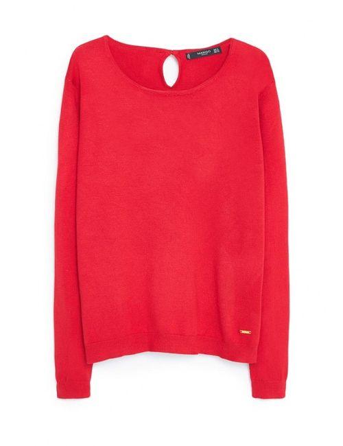 Mango | Женский Красный Джемпер