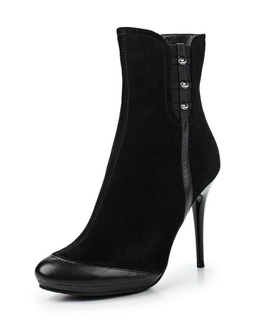 Burlesque   Женские Чёрные Ботильоны