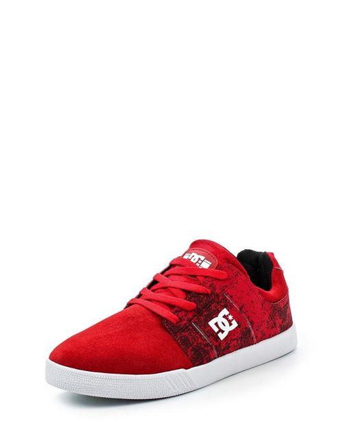 Dcshoes | Мужские Красные Кеды Dc Shoes