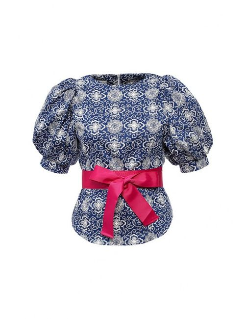 Tutto Bene | Женская Синяя Блуза
