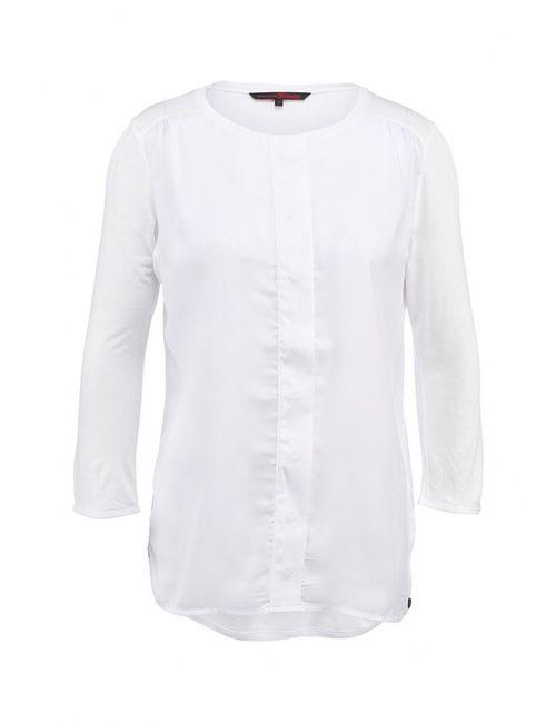 Tom Tailor Denim   Женская Белая Блуза