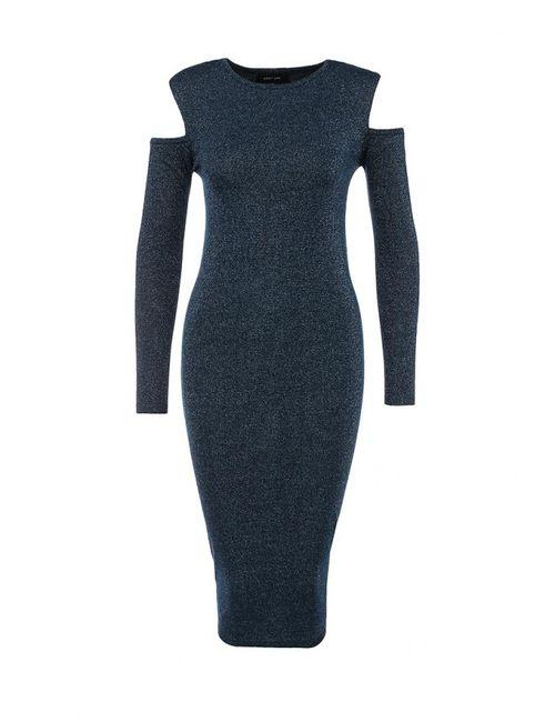 LOST INK | Женское Синее Платье