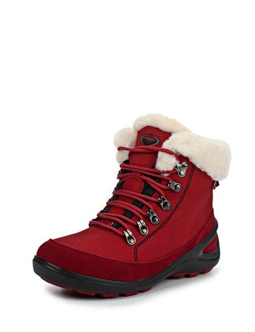Strobbs | Женские Красные Ботинки Трекинговые