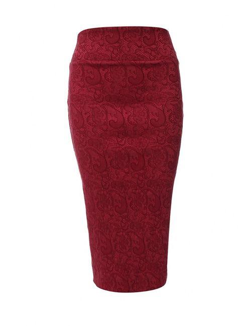 Tutto Bene | Женская Красная Юбка