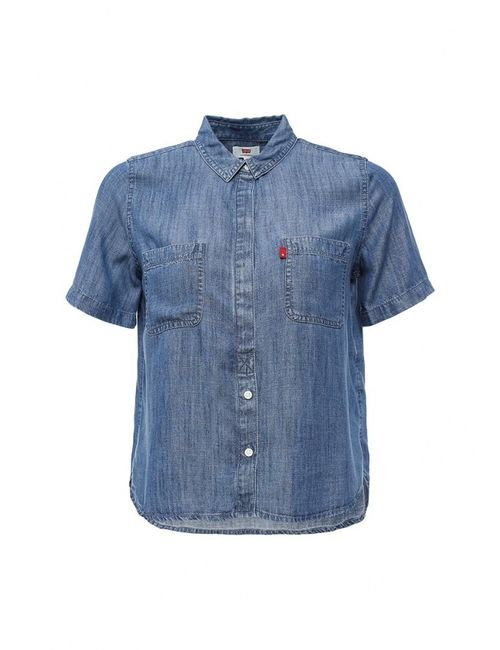 Levi's® | Женская Синяя Рубашка Джинсовая