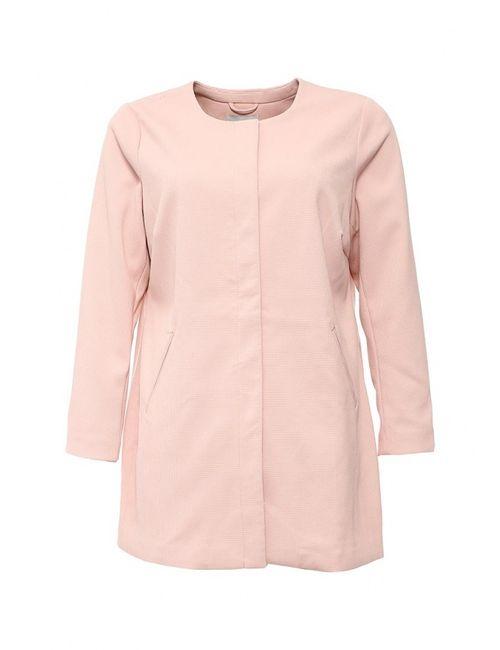 Junarose | Женское Розовое Пальто
