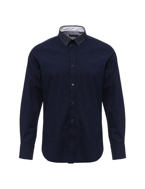 Brave Soul   Мужская Синяя Рубашка