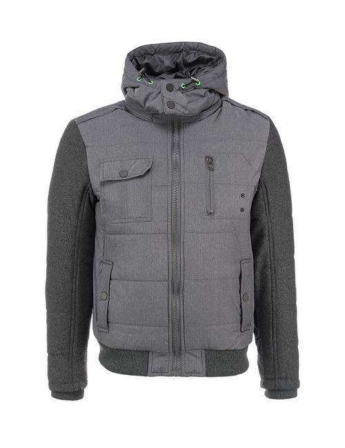 Forex | Мужская Серая Куртка Утепленная