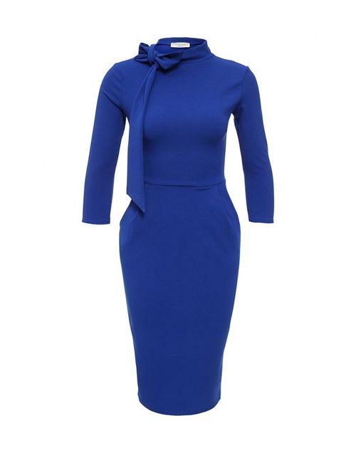 City Goddess | Женское Синее Платье