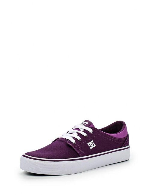 Dcshoes | Женские Фиолетовые Кеды Dc Shoes