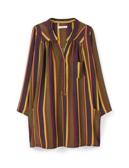 Mango   Женское Многоцветное Платье