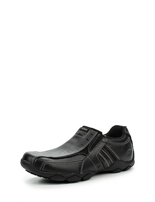 Skechers | Мужские Чёрные Ботинки