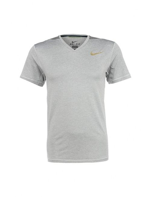 Nike   Мужская Серая Футболка Спортивная
