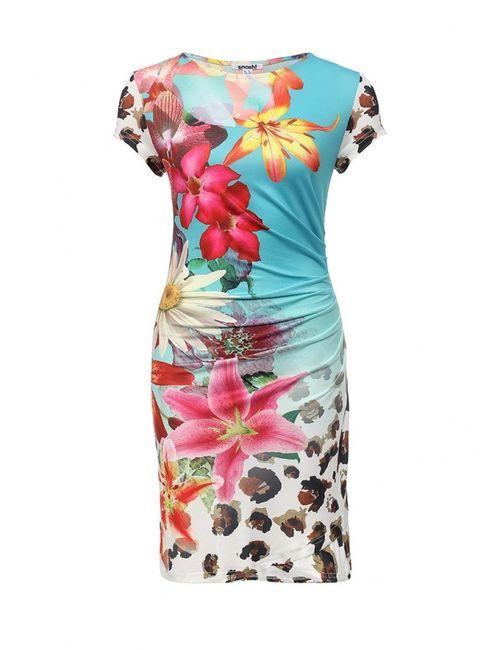Smash | Женское Многоцветное Платье